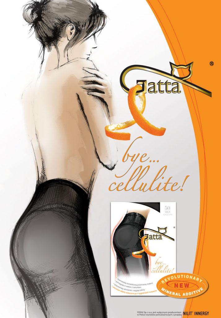 Rajstopy Gatta Bye Cellulite